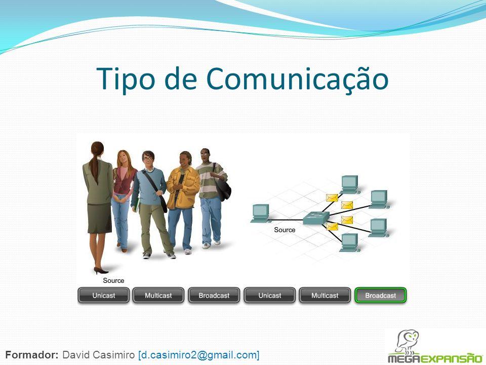 Tipo de Comunicação Formador: David Casimiro [d.casimiro2@gmail.com]